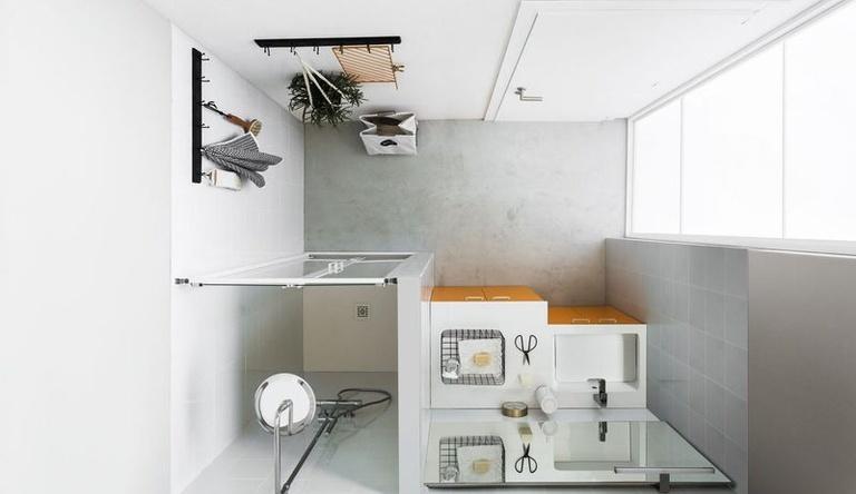 Kupaonica sa prostorom za pranje rublja